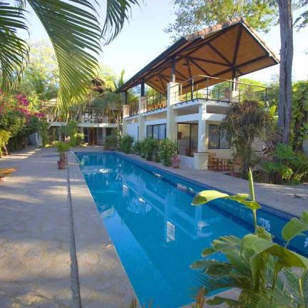 Casa Banyan Tamarindo Costa Rica Beachfront 4 bd home
