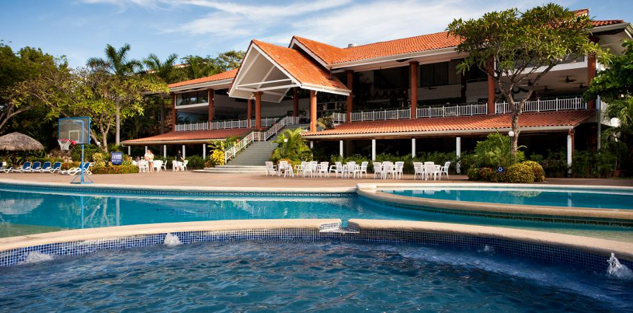 Stay at the Barcelo Hotel just outside of Tamarindo in Playa Langosta